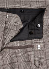 Wool Plaid Classic Shoulder Suit, thumbnail 7