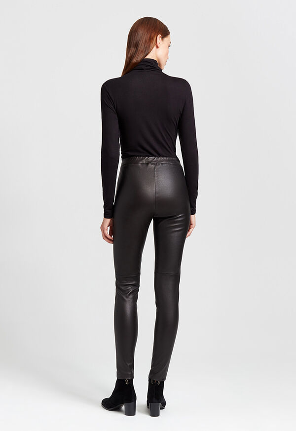 Stretch Leather Legging, image 5