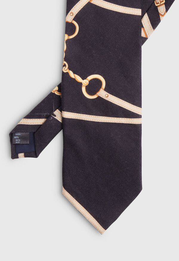 Black Horse Track Scarf Tie, image 2