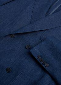 Blue Linen Jacket, thumbnail 4
