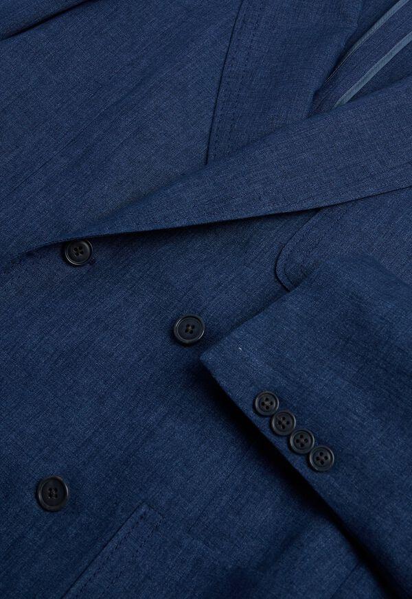 Blue Linen Jacket, image 4