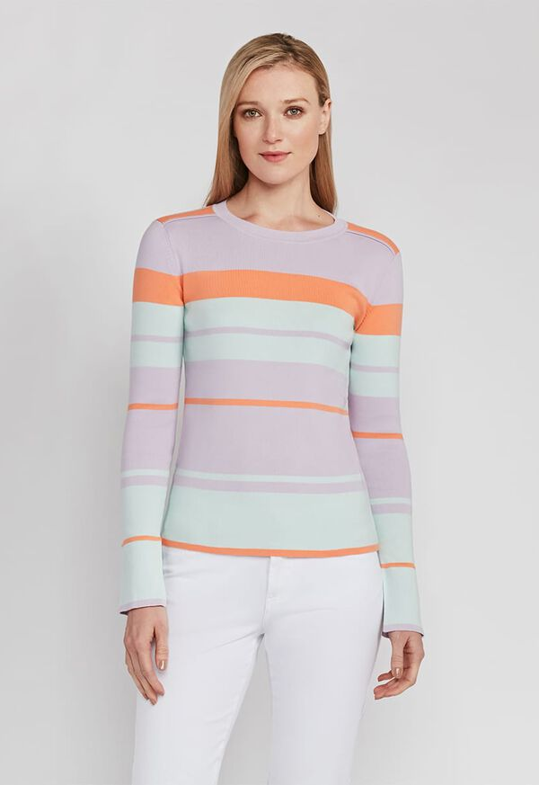 Mixed Stripe Sweater, image 1