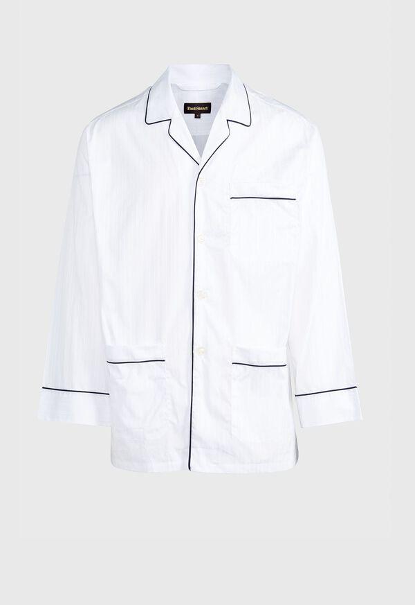 Satin Stripe Pajama Set, image 1