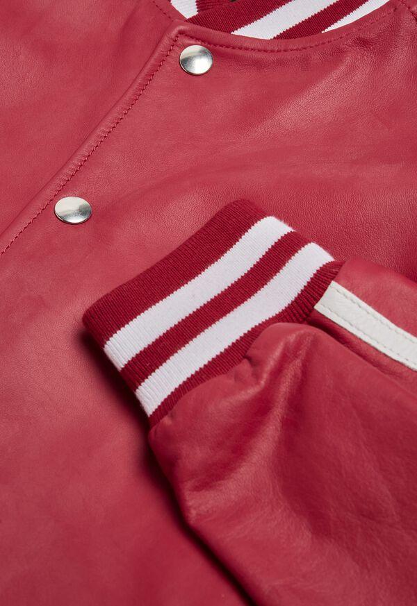 Crimson Bomber Jacket, image 2