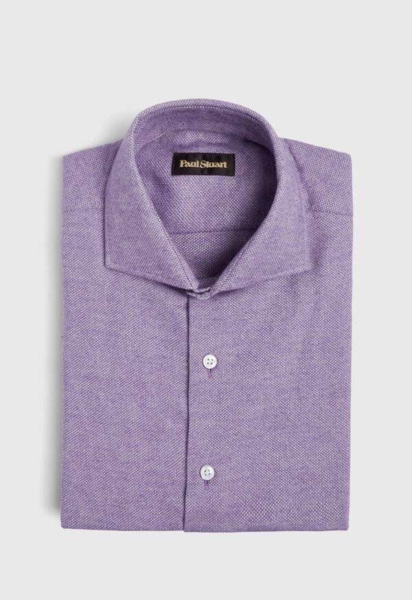 Oxford Brushed Flannel Sport Shirt, image 1