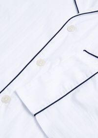 Satin Stripe Pajama Set, thumbnail 2