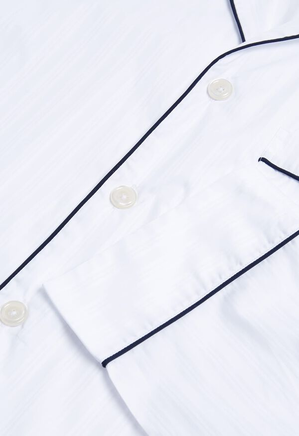 Satin Stripe Pajama Set, image 2