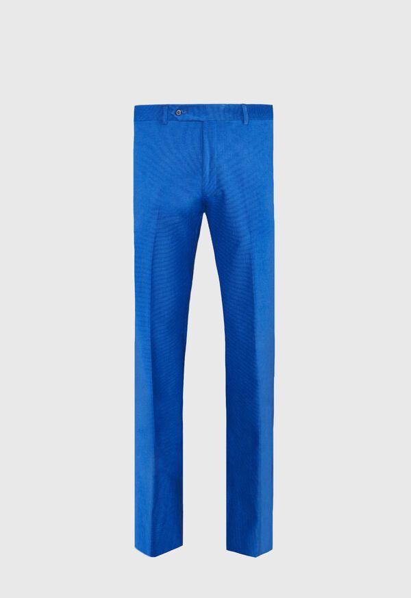 Blue Horizontal Corduroy Pant