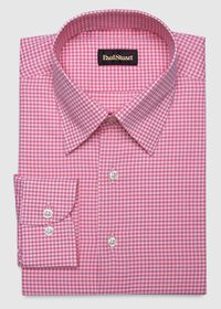 Cotton Gingham Sport Shirt, thumbnail 1