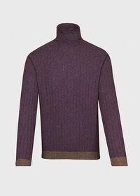 Ribbed Turtleneck Sweater, thumbnail 1