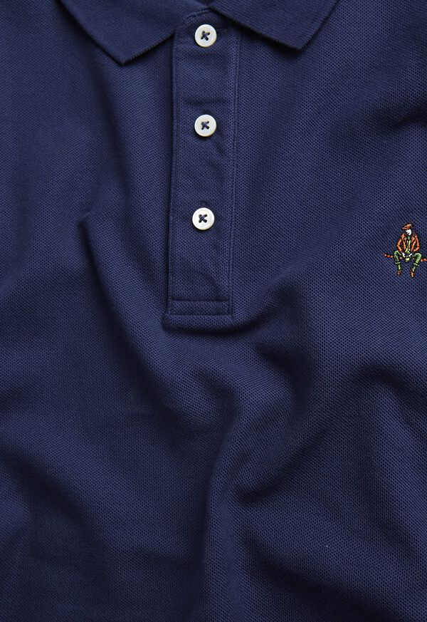Cotton Pique Logo Polo, image 2