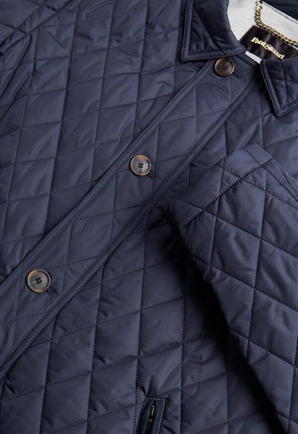 Diamond Quilted Barn Coat, image 2