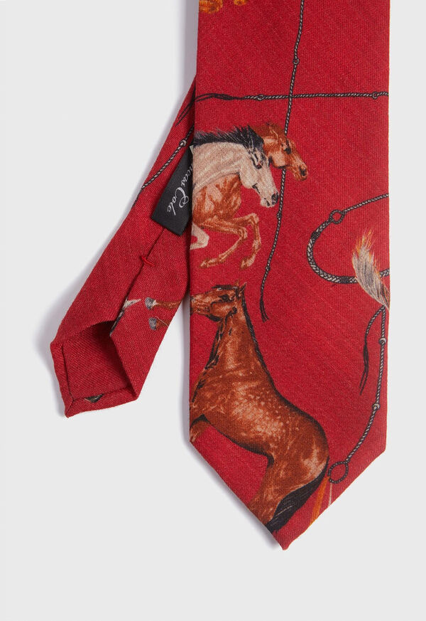 Running Horse Wool and Yak Tie, image 1