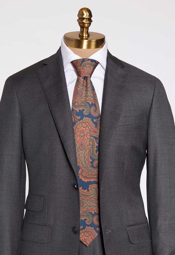 Paisley Silk Tie, image 3