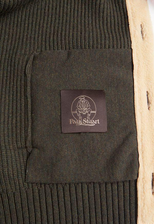 Shearling Trim Cardigan Jacket, image 3
