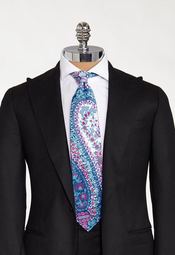 Deco Floral Paisley Tie, image 2