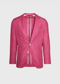 Solid Crimson Sport Jacket, thumbnail 1