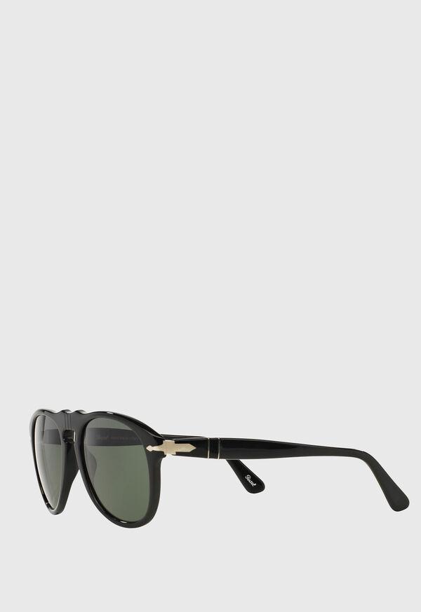 Persol's Black Aviator Sunglasses, image 2