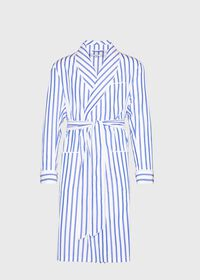 Awning Stripe Robe, thumbnail 1