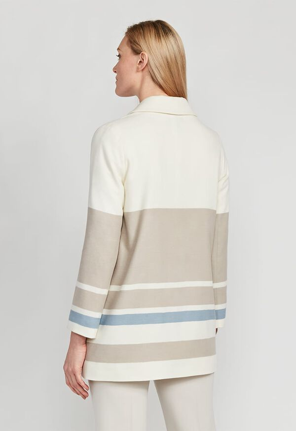 Wool One Button Coat, image 4