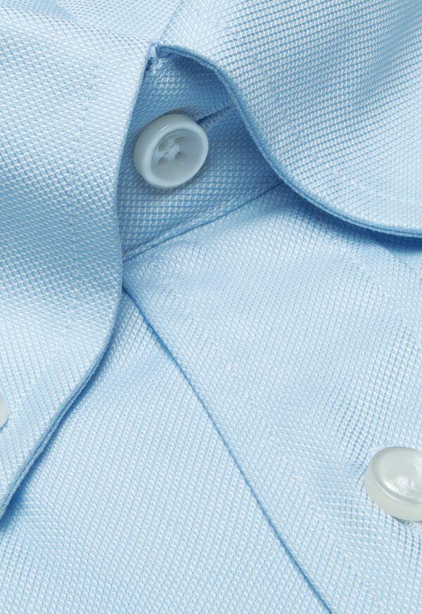 Blue Oxford Traveler Shirt, image 2