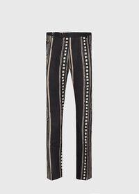 Linen Exotic Stripe Pant, thumbnail 1