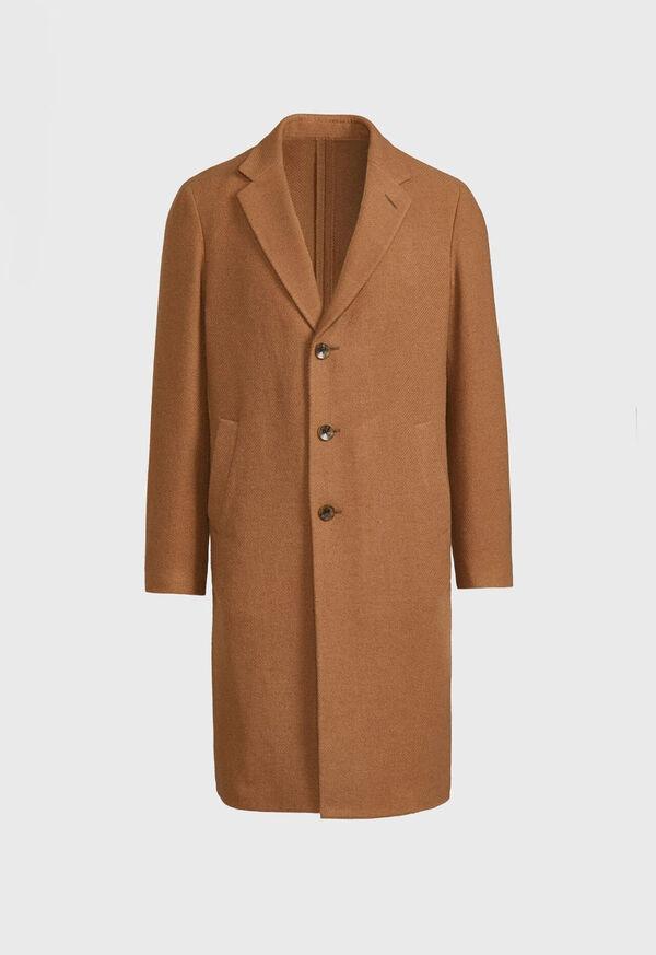Textured Twill Coat, image 1