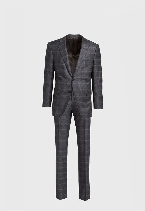 Grey Plaid Suit, image 1