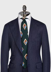 Deco Diamond Wool Tie, thumbnail 2