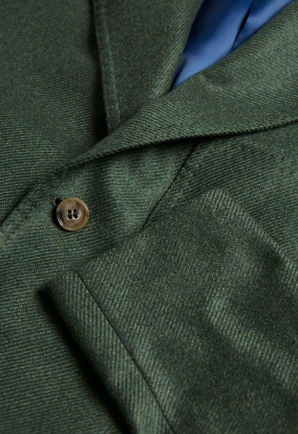 Solid Cashmere Green Blazer, image 2