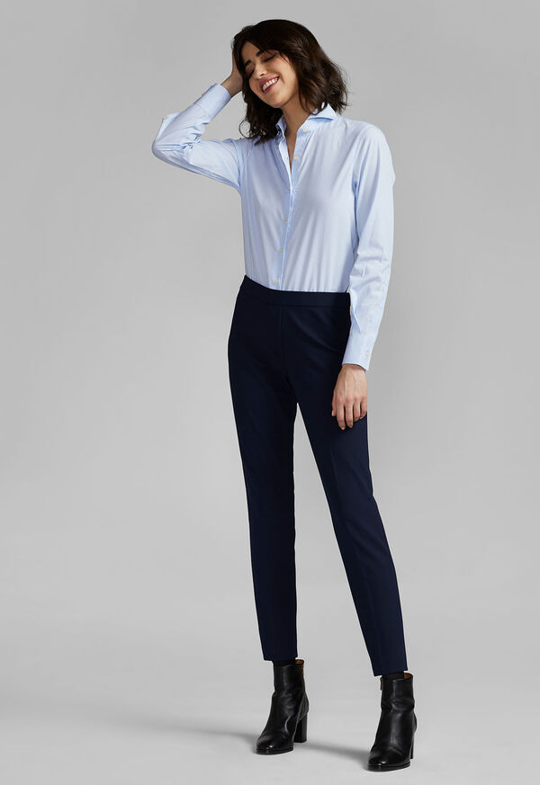 Crepe Pull-On Pant, image 3