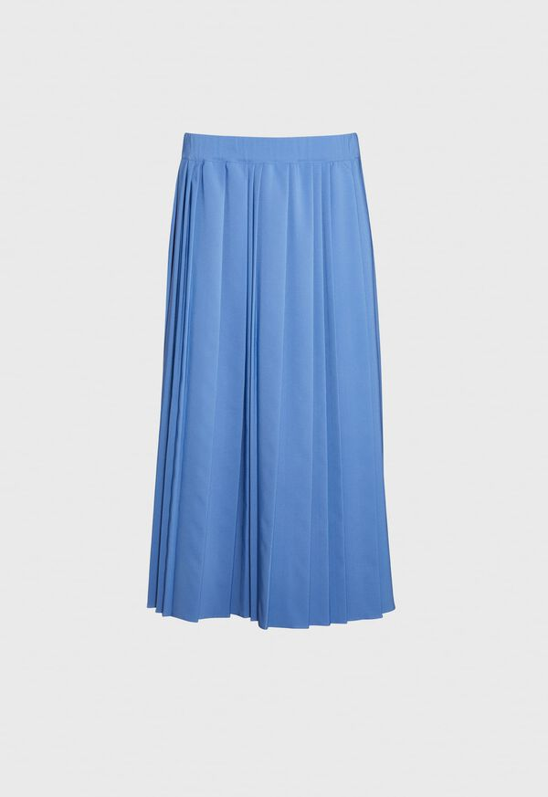 Wide Pleat Midi Skirt, image 1