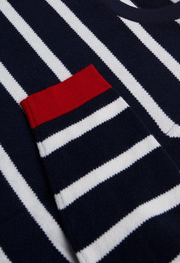 Cashmere Stripe Sweater, image 3