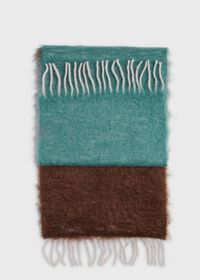 Colorblock Mohair Scarf, thumbnail 2