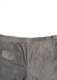 Grey Leather Pant, thumbnail 3