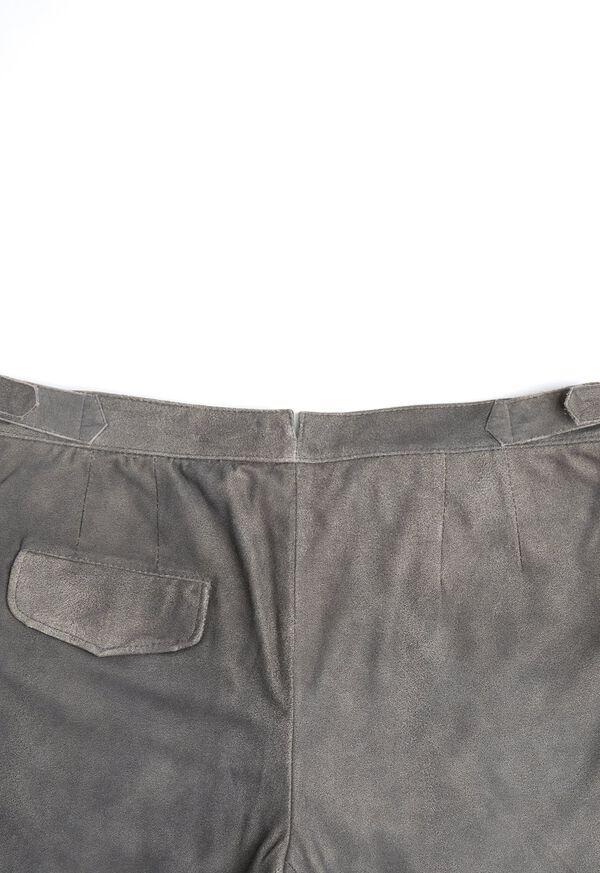 Grey Leather Pant, image 3