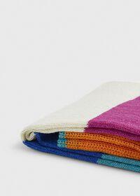 Multi Color Stripe Crew Sock, thumbnail 2