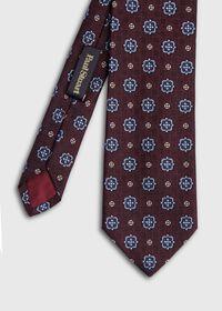 Large Medallion Jacquard Tie, thumbnail 1