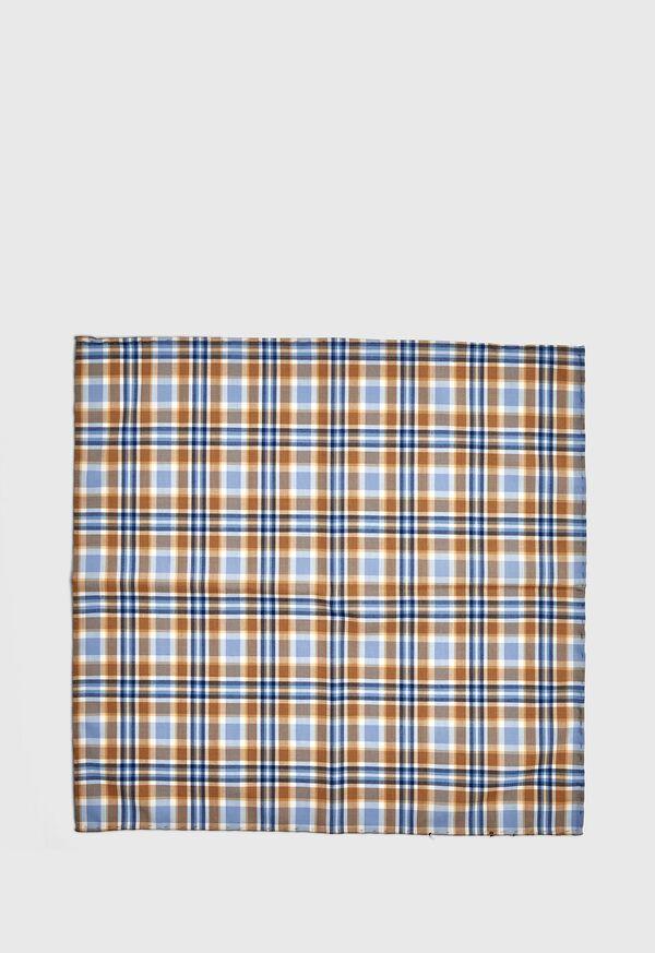 Plaid Pocket Square, image 2