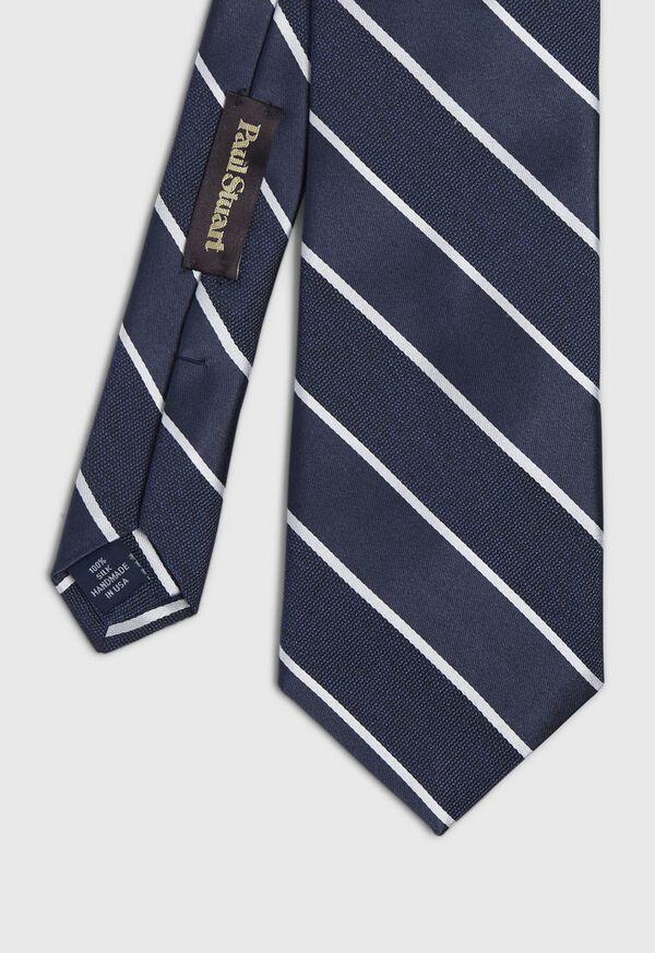 Stripe Satin Tie, image 1
