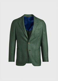 Solid Cashmere Green Blazer, thumbnail 1