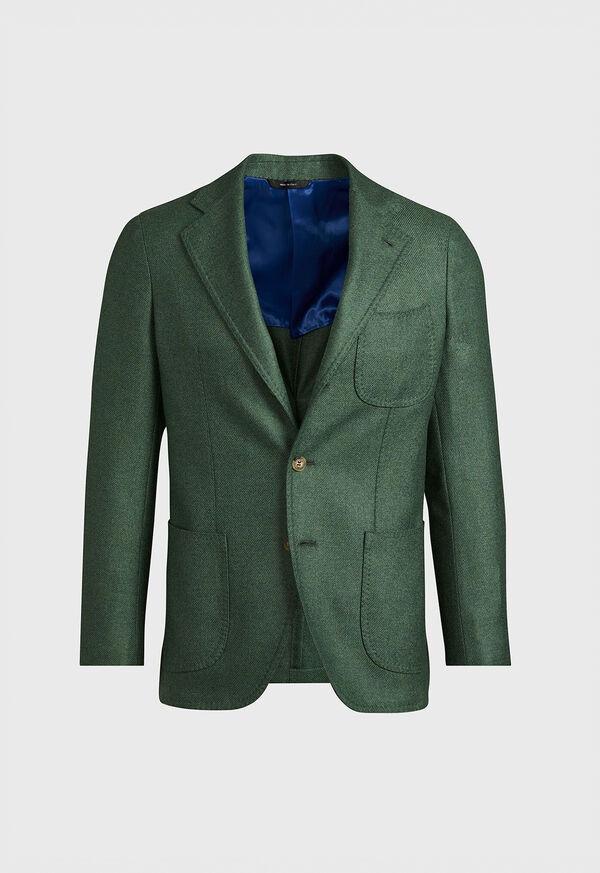 Solid Cashmere Green Blazer, image 1