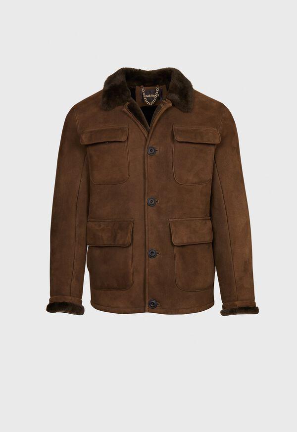 Shearling Field Jacket, image 1
