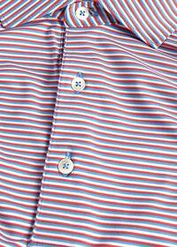 Multi Color Stripe Performance Polo, thumbnail 2