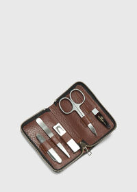 Deerskin Leather Manicure Set, thumbnail 1