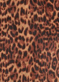 Leopard Print Lightweight Cashmere Scarf, thumbnail 2
