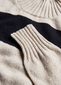 Striped Cashmere Sweater, thumbnail 3