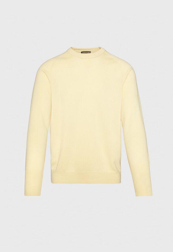 Single Ply Cashmere Sweatshirt, image 5