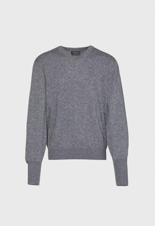 Scottish Cashmere V-Neck Sweater, image 10