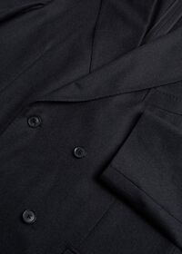 Super 150s Charcoal Double Breasted Suit, thumbnail 2